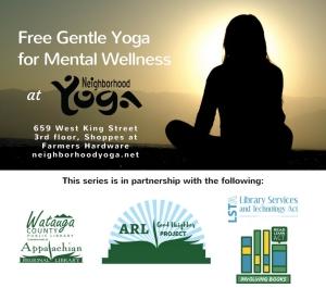 Copy of Neighborhood Yoga with Sandra Diaz Flier